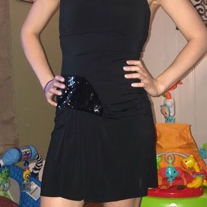 Black Betsy Johnson dress